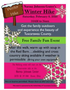 Winter Hike flyer