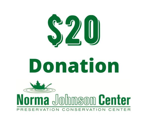 20 dollar donation