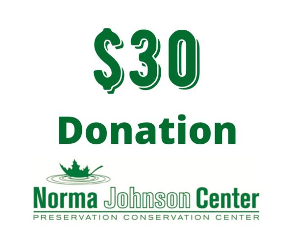 30 dollar donation